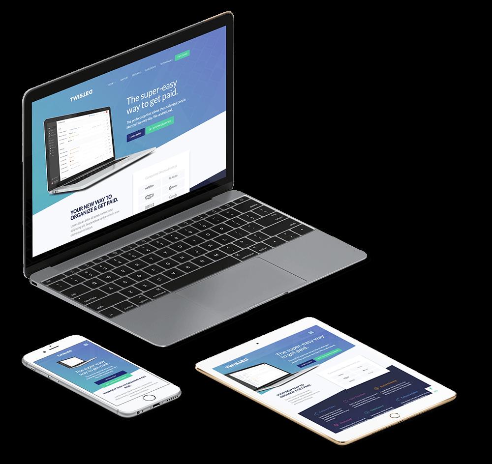 Startup Company Website Designing